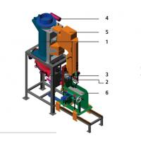 Quality PVPE Pneumatic Valve Bag Packing Machine For Animal Pet Food / Powder / Granule for sale