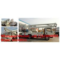 China 2019s SINO TRUK HOWO new 12-18m hydraulic aerial working platform truck for sale, High altitude operation truck on sale