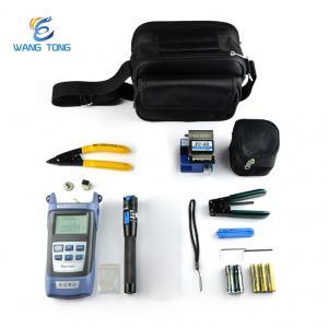 China Safe Fiber Optic Tool Kit Fiber Optic Cable Tools Easy Terminate 1 Year Warranty on sale