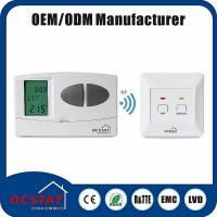 Buy cheap Heating Room 7 Day Programmable Thermostat Manual Override Mode from wholesalers