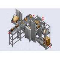 Quality High Speed Automated Palletizer / Stacker for Bagged Building Material for sale