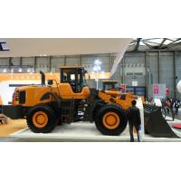 China 3 ton Rated Load Wheel Loader Excavator , Bucket Front Wheel Loader Spare Parts on sale