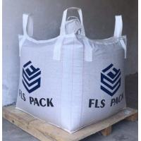 Quality FIBC Virgin PP Big Bulk Bag Heavy Duty Circular / Tubular Shaped For Storage for sale