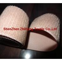 Quality Customized weave un-brushed/un-napped elastic hook and loop fastener band for sale