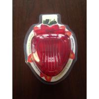 Quality Plastic Strawberry Slicer Cutter With Stainless Steel Blades for sale