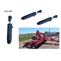 Quality Vehicle Agricultural Hydraulic Cylinder With Chrome Treatment Piston Rod for sale
