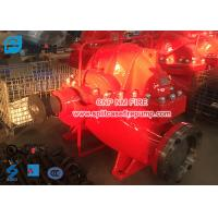 Quality Firefighting Use Diesel Engine Driven Fire Pump Set , Horizontal Nfpa Pump for sale