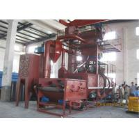 Quality Roller Conveyor Wire Mesh Belt Shot Blasting Machine For Thin - Walled Iron Casting for sale
