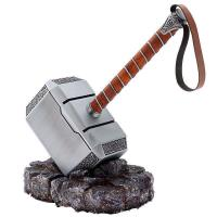 Quality metal thor's hammer with resin base 955042 for sale
