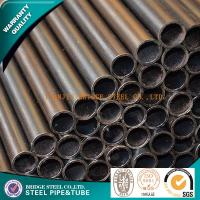 Quality ASTMA53 Mild Steel Tubing Schedule 30 / Schedule 40 , Round Steel Pipe for sale