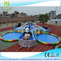 Quality Hansel popular inflatable pool rental for pool party for sale