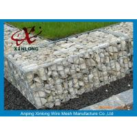 Quality 2*1*1m  / 1*1*1m Welded Hot Dip Galvanized Gabion Box For River Control for sale