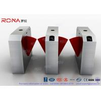 China Dual Channel Automation Flap Barrier Gate Fast Lane Gate Access Control Systems on sale