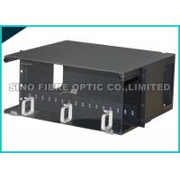 Quality 4U Ultra Duplex LC Fiber Optic Patch Panel 288 Core Metal Splice Housing for sale