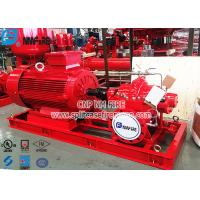 Quality NFPA20 Standard Electric Motor Driven Fire Pump Set , Ul Fm Pump For Fire Fighting Use for sale