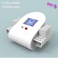 Quality Waist Fat Removal Lipo Laser Slimming Machine 650nm / 980nm With 336 Diodes for sale