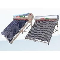 Quality Safety Vacuum Tube Solar Water Heater , Solar Powered Tankless Water Heater for sale