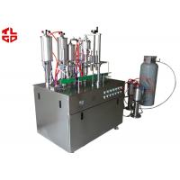 Quality Aerosol Spray Filling Machine , Automatic Spray Painting Machine Suppliers for sale