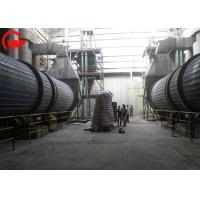 Quality Gypsum Rotary Dryer Machine Mining Iron Powder Rotary Dryer 1200-3200mm Roller Diameter for sale