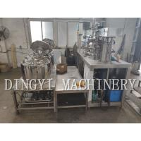 Quality Stable Shampoo Production Line , Silent Shampoo Manufacturing Equipment for sale