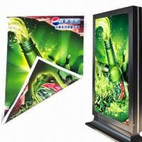 Quality Backlit Flex Banner with Double-sided Prints in High Resolution, Measures 500D, Used for Light Box for sale