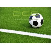 Quality Common Fibers Rebound Soft Artificial Grass Soccer Field 50 Mm Pile Height for sale