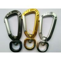 Quality 81MM Height Spring Snap Clip , Light Weight High Strength Heavy Duty Carabiner Clips for sale