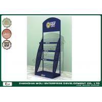 China Wire Retail Display Racks store shelving units floor standing powder coating on sale