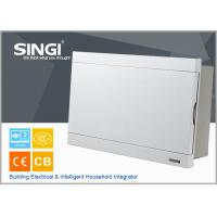 Buy Surface mounted 16 mounted units high quality electrical distribution box ABS material distribution box size ivory-white at wholesale prices