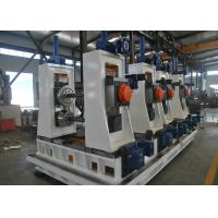 Quality High Frequency Square Tube Mill , Carbon Steel Welded Pipe Production Line for sale