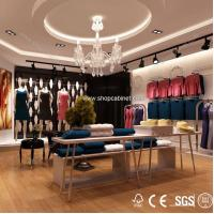 Quality Fashion metal display shelf &hanging clothes shelf for sale