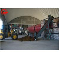 Quality High Strength Chicken Manure Dryer Machine , Durable Rotary Rice Dryer for sale