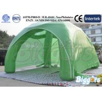 Buy cheap Advertising Dome Green Inflatable Outdoor Tent With Polyester/Nylon Meaterial from wholesalers