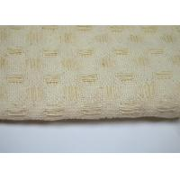 Quality Purity Cotton Honeycomb Pattern Jacquard Fabric Varying Drape - Ability for sale