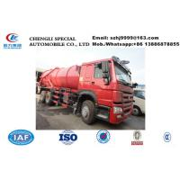 Quality HOT SALE! Low price new products top level SINO TRUK HOWO 6*4 16,000Liters sewage vacuum cesspool trucks for sale
