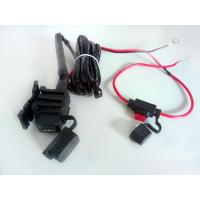Quality 12V Motorcycle USB Charger Cable For iPad Phone Power System for sale