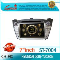 Quality GPS Navigation Hyundai DVD Player With HD Touch Screen for sale