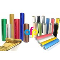 Buy Custom Colors Hot Stamping Foil For Blocking Machine PET Film Base at wholesale prices