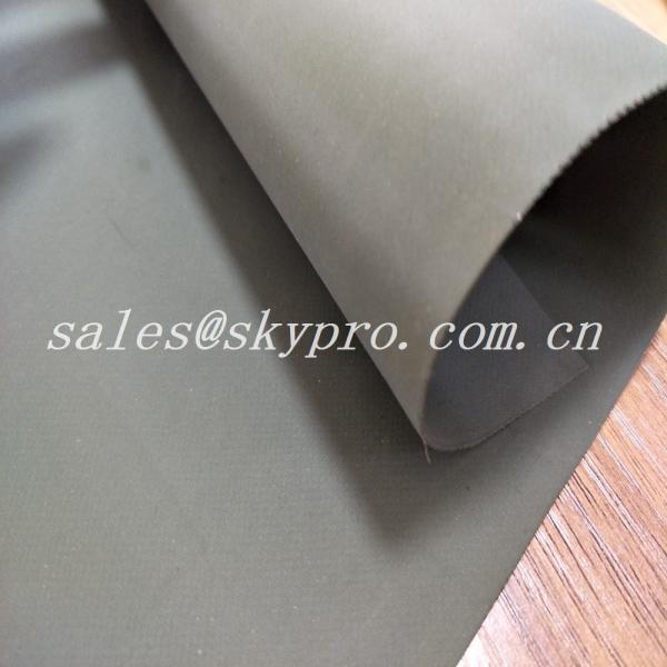 Custom Wear Resistant Hypalon Rubber Sheet Neoprene Fabric