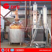 Quality White Spirit Distillation And Alcohol Distillers Electric Hearting Or Steam Hearting for sale