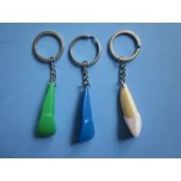 Quality Dental Keychain For Dentist Gift Plastic Front Tooth White or Blue Green for sale