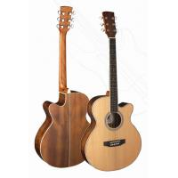 Quality Senior Full Size Okoume Wood Western Guitar / Wood Acoustic Guitar TP-AG27 for sale