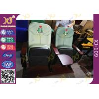 Quality Lagos Nigeria University Auditorium Theater Seating Cushion Fabric With Customized Logo for sale