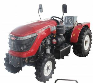 Quality ISO 2300r/Min Agriculture Farm Tractor , 70hp Orchard Mini Tractor for sale