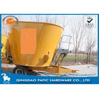 Quality Tulip Vertical Mixer Animal Feed Wagon Loading capacity 3000kgs for Pasture for sale