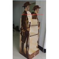 Quality Customized corrugated cardboard retail shelf display Gloss lamination for sale