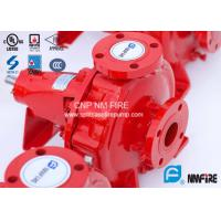 Quality FM Approved End Suction Fire Pump 400GPM / 155PSI For Pipelines Bureaus for sale