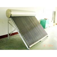 China low cost high quality non-pressurized solar water heater on sale