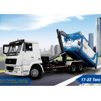 Buy cheap Container Garbage Truck, XCMG Hooklift Truck, sanitation truck, Hook Arm Garbage Truck XZJ5250ZXX for loading garbage from wholesalers