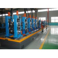 Quality High Precision Carbon Steel ERW Tube Mill Line With Worm Adjustment for sale
